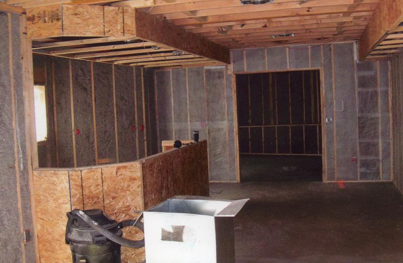 Lee Insulation Inc Product Example Sprayed Walls